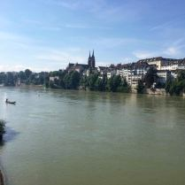 Rhein Ausblick